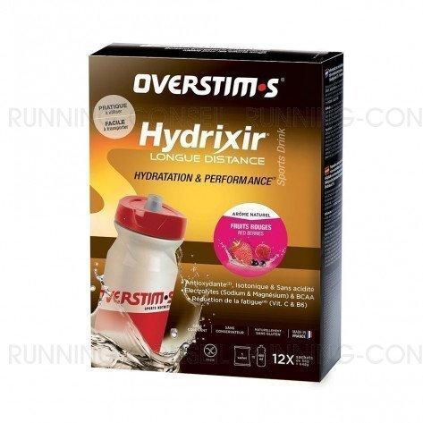 Hydrixir longue distance fruits rouges sticks overstims