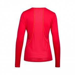 DIADORA T-SHIRT MANCHES LONGUES L. X-RUN FEMME | RED VIRTUAL PINK