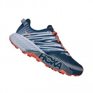 HOKA SPEEDGOAT 4 FEMME | Majolica Blue / Heather
