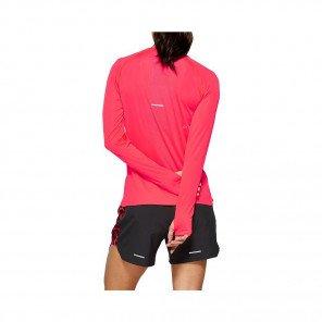 ASICS Tee-Shirt manches longues sans coutures femme | Lazer pink