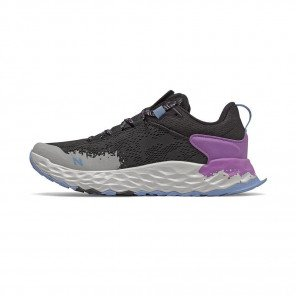 NEW BALANCE Fresh Foam Hierro v5 Femme | Black with Neo Violet & Linen Fog