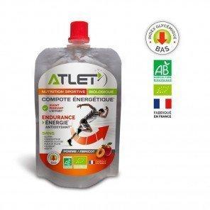 COMPOTE ENERGETIQUE POMME ABRICOT certifiée biologique FR-BIO-01