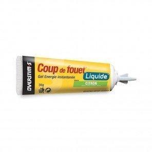 OVERSTIM'S COUP DE FOUET LIQUIDE Citron (Boîte 10 tubes)