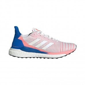 ADIDAS SOLAR GLIDE 19 Femme | Crystal White / Cloud White / Glory Blue
