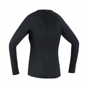 GORE® BASE LAYER MAILLOT MANCHES LONGUES FEMME   BLACK