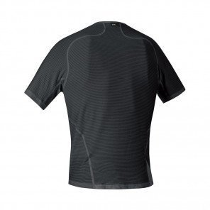 GORE® BASE LAYER MAILLOT MANCHES COURTES HOMME   BLACK