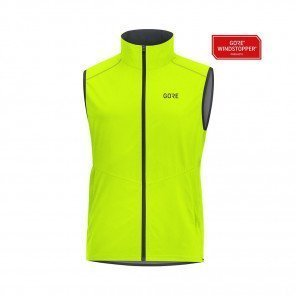 GORE® R3 GORE WINDSTOPPER GILET HOMME | NEON YELLOW | Collection Printemps-Été 2019
