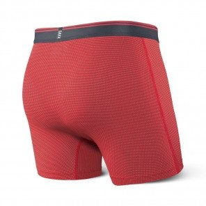 SAXX UNDERWEAR Quest boxer brief fly Homme | Red