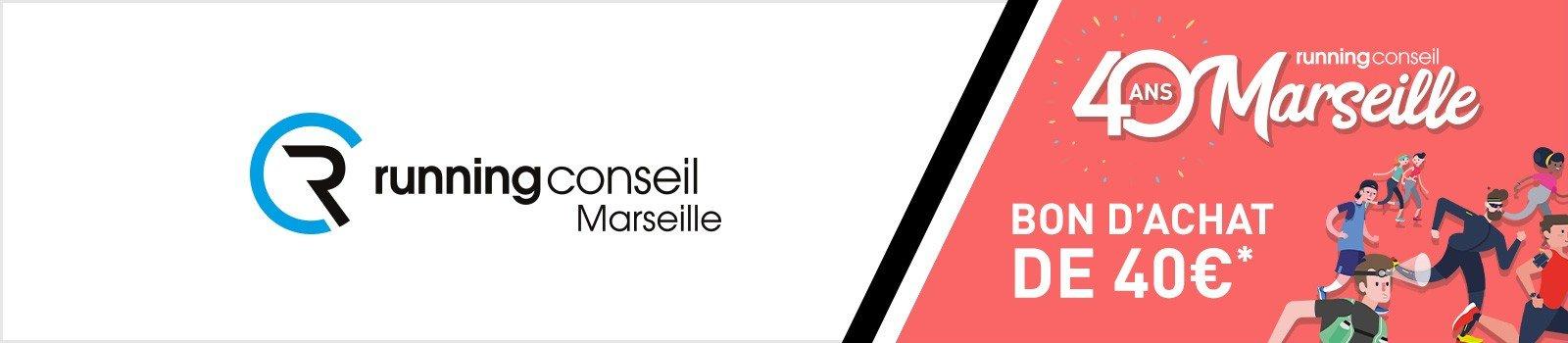 Running Conseil Marseille fête ses 40 ans - Téléchargez votre bon d'achat