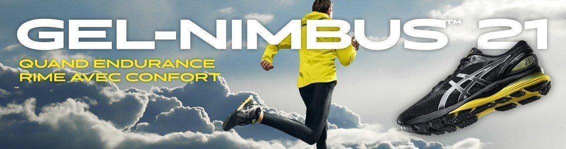 Asics Gel-Nimbus 21 homme black lemon spark