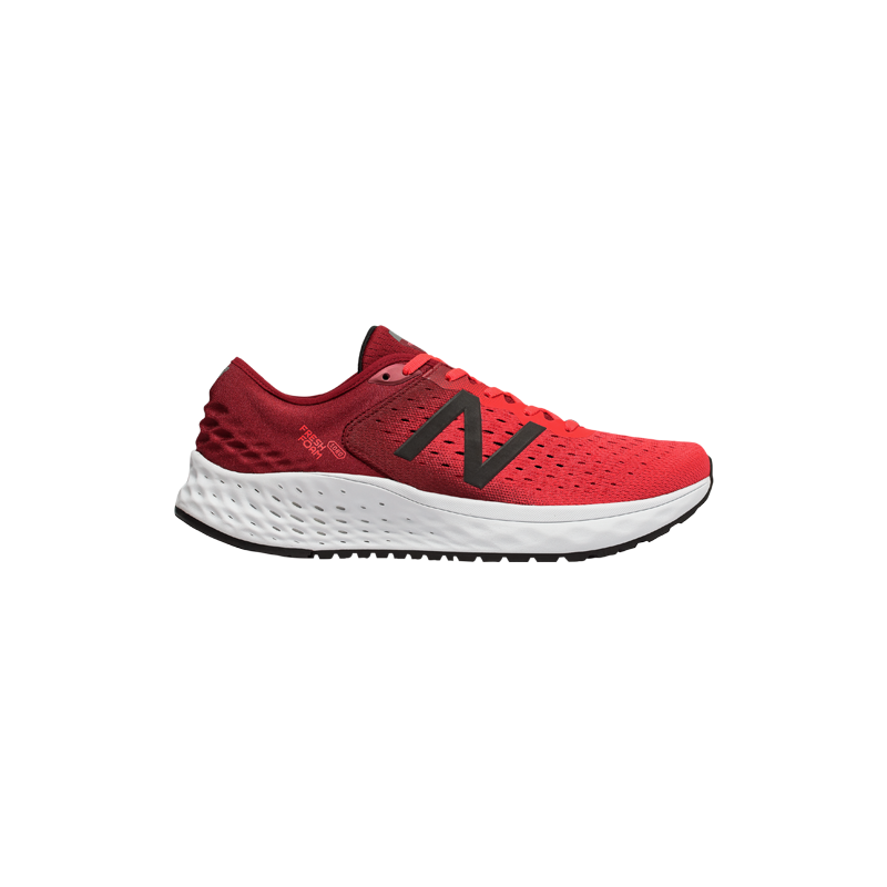 NEW BALANCE FRESH FOAM 1080v9 HOMME | ENERGY RED WITH NB SCARLET & BLACK